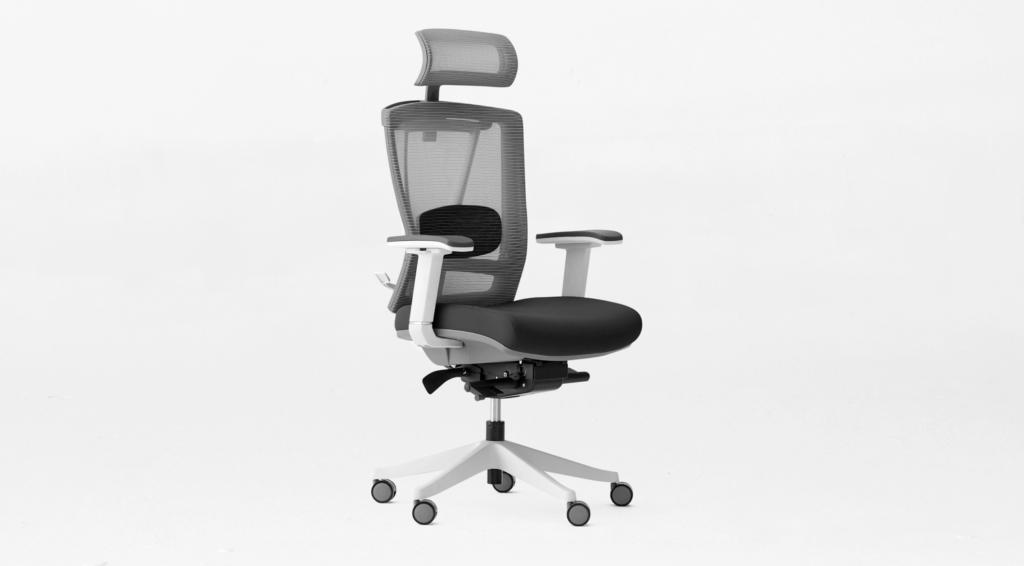 Black ergonomic chair Ergo2 from Autonomous.
